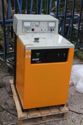 helium leak detector arrived
