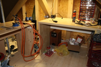 Attic nixie workshop