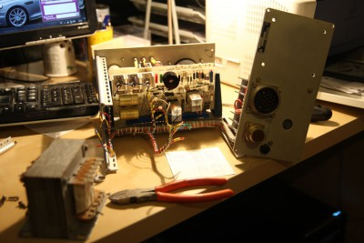 Helium leakdetector broke down