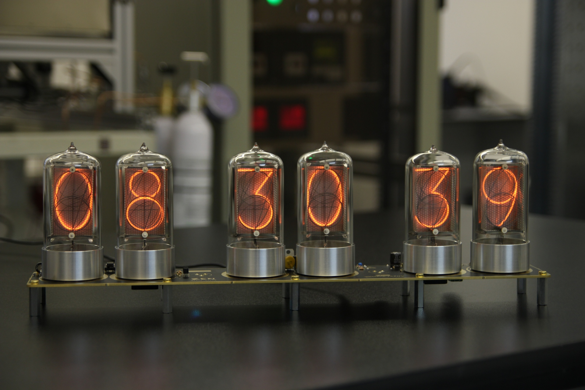 Nixie Clocks At DaliborFarny