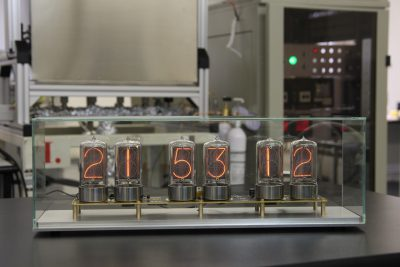 Zen nixie clock with case