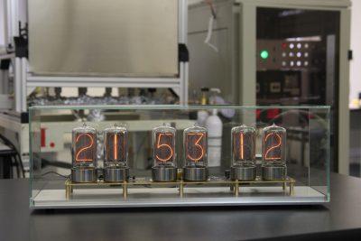 Zen nixie clock with case