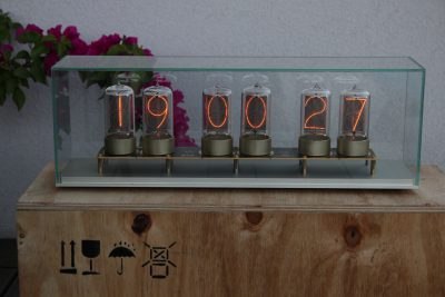 Zen Nixie Clock prototype