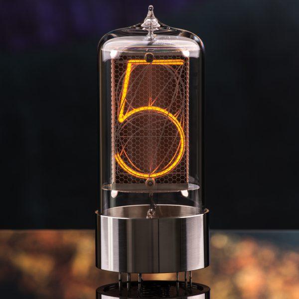 R|Z568M Nixie Tube, stainless steel base