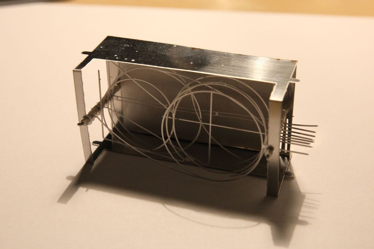 Prototype of nixie tube inner structure