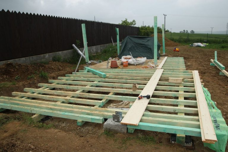 foundation for my garden shed