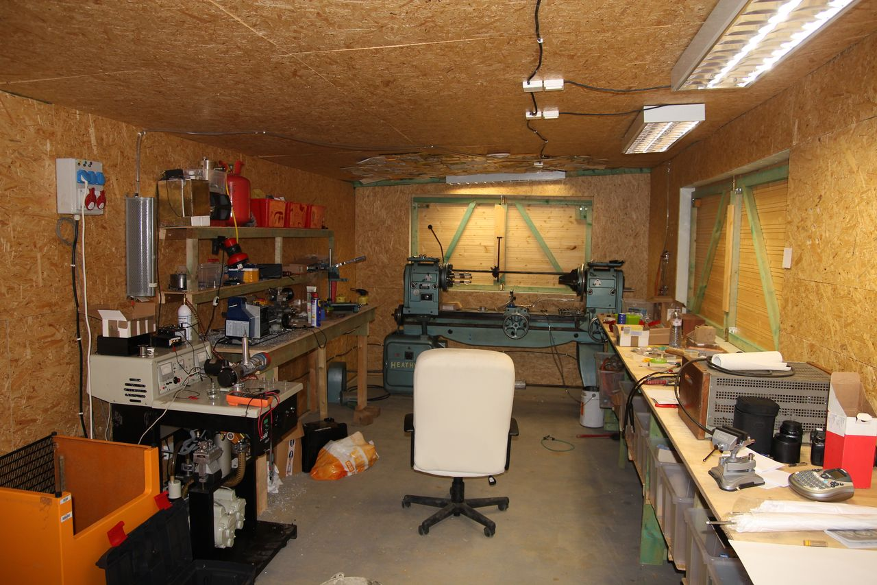 my first real workshop