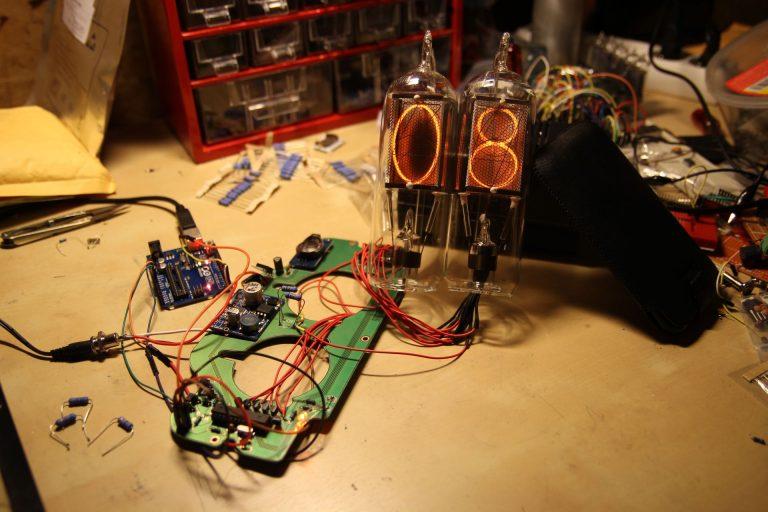 prototype nixie tubes