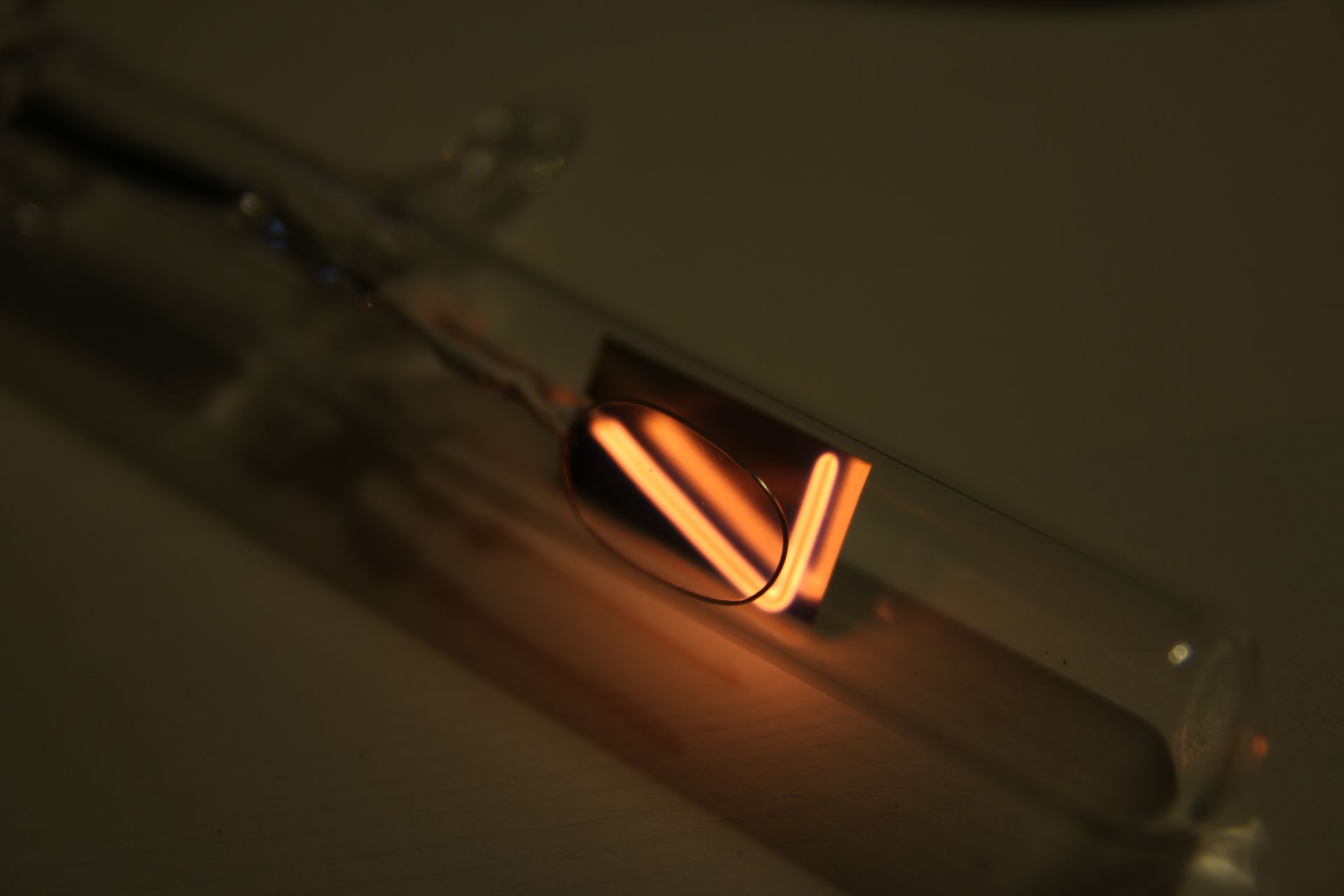neon glow nixie tube