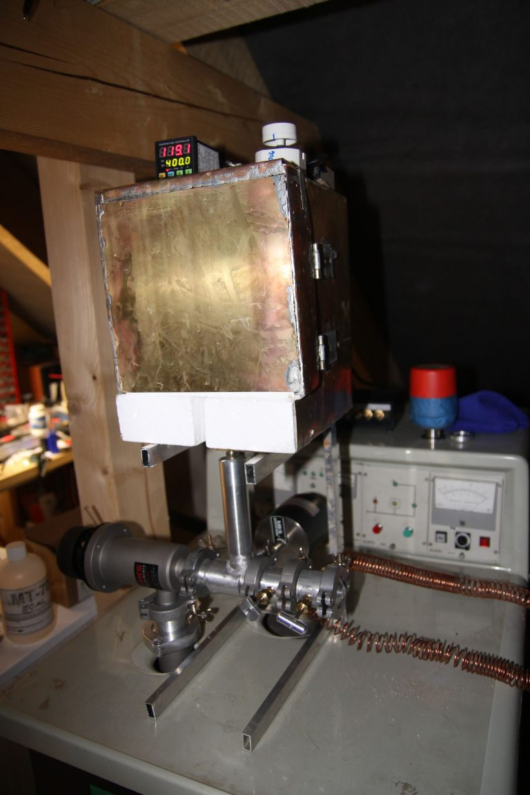 oven for nixie tube bakeout