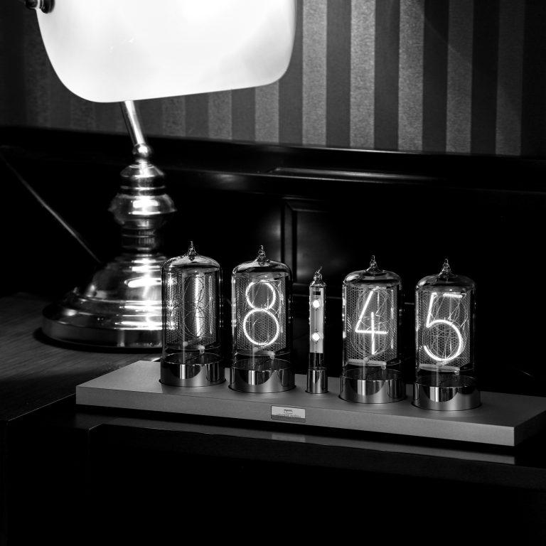 Puri Nixie Clock in Grandhotel Pupp