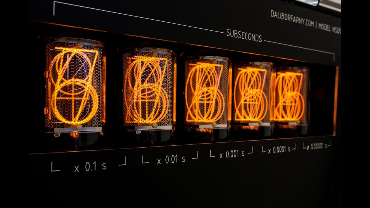 Can nixie tube operate at 100 000 Hz?
